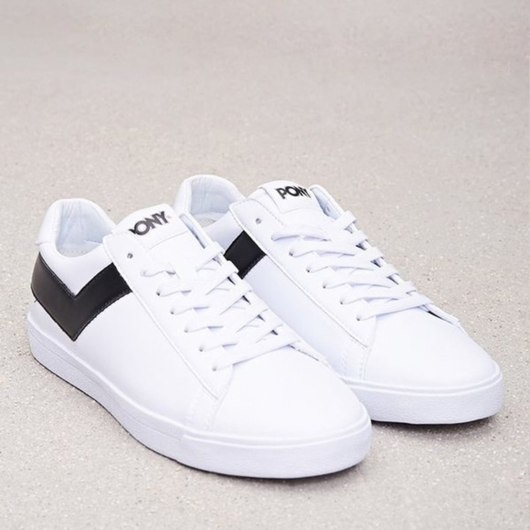 Pony Classic Low Leather Sneakers